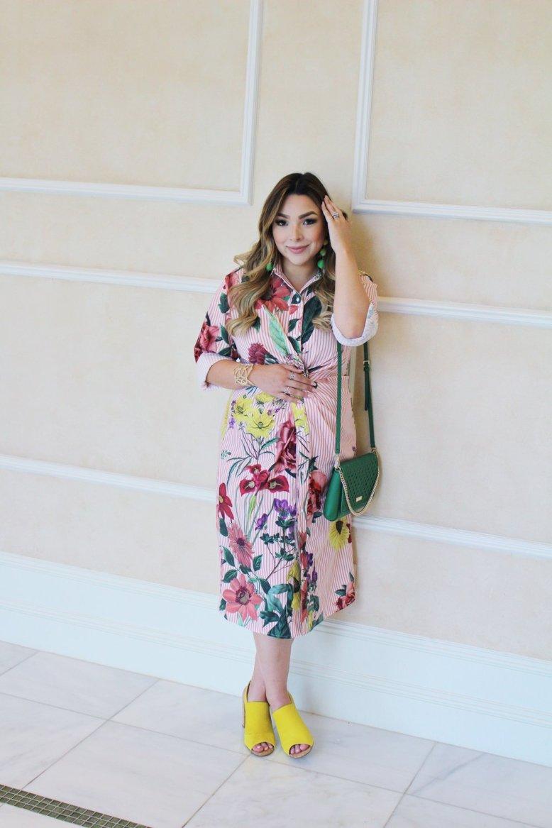 dress ,  earrings ,  heels , handbag